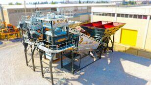 nova FABO TURBOMIX-120 MOBILE CONCRETE PLANT READY IN STOCK betonara