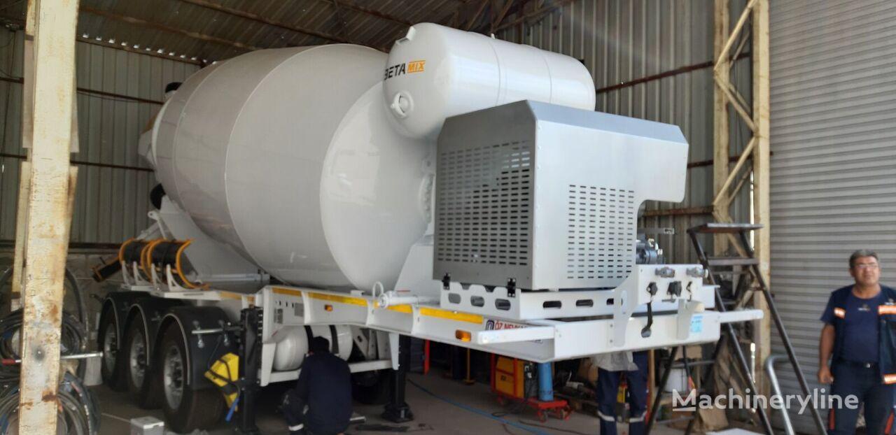 novi EXPOTRAILER 12 M3 betonska mješalica