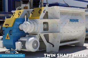 nova PROMAX 2 m3 /3 m3 TWIN SHAFT MIXER betonska mješalica