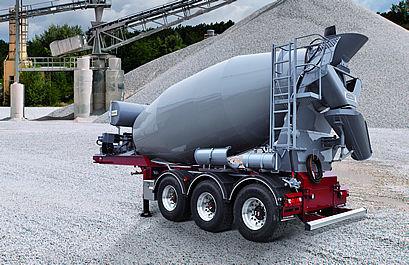 novi PUTZMEISTER P12DS, IMI 12.1 betonska mješalica