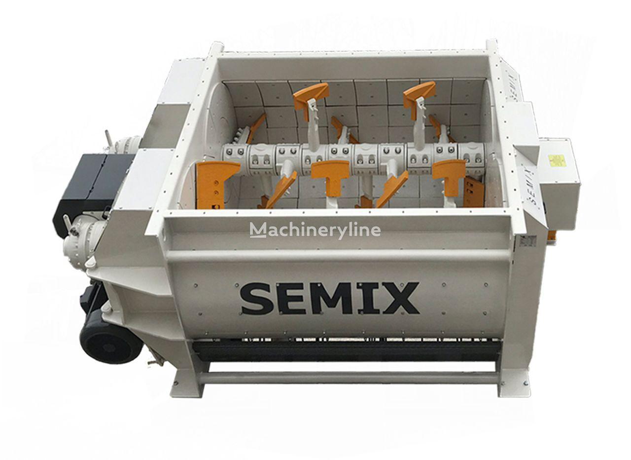 nova SEMIX Twin Shaft Concrete Mixer 2m³/ 3m³/ 4m³/ 5m³ betonska mješalica