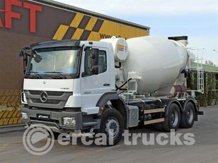 MERCEDES-BENZ 2015 AXOR 3029 E5 AC 6X4 CONCRETE MIXER kamion s mješalicom za beton