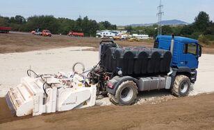 nova MAN TGS 18.480 mit Wirtgen WS 250 mašina za reciklažu asfalta