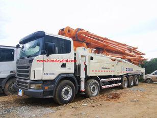 Zoomlion 63m X-6RZ 2013 na šasiji SCANIA G470CB 10X4 ZOOMLION boom truck pumpa za beton