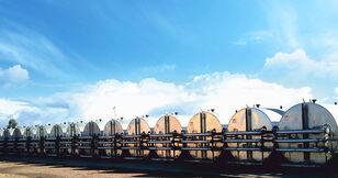 novi MARINI tankFALT - система термоизолированных резервуаров и трубопроводо silos za cement
