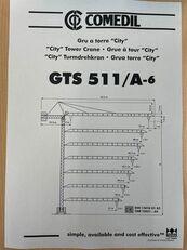 COMEDIL GTS 511 toranjska dizalica
