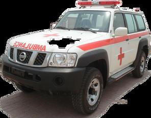 novo NISSAN Patrol 4.0 XE AT vozilo hitne pomoći